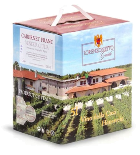 Lorenzonetto Cabernet Franc IGT  (bag in box) - 5 l