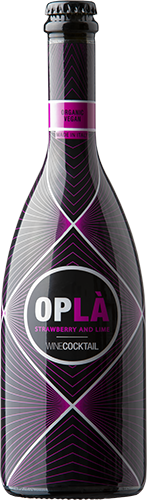 Oplá winecoctail strawberry and lime