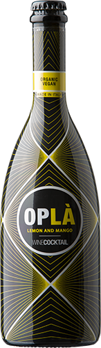 Oplá winecoctail mango and lemon